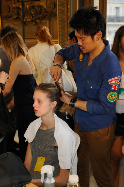 Stella McCartney at Paris Spring 2012 (Backstage)