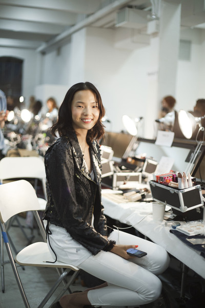 Suno at New York Spring 2014 (Backstage)