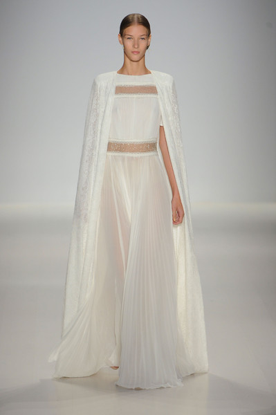 Designer Wedding Dresses From Fashion Month · Tadashi Shoji ...