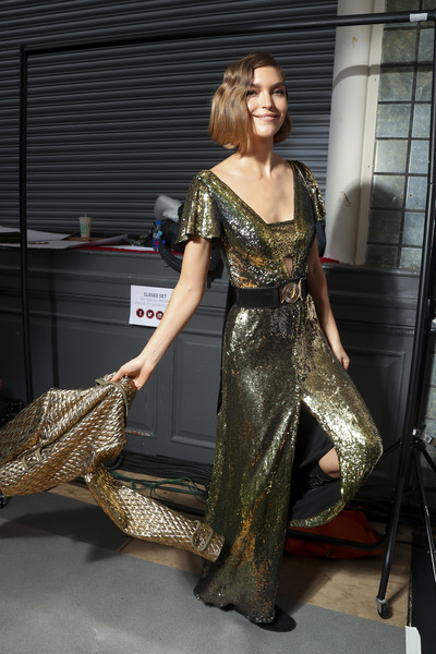 Temperley London at London Fall 2018 (Backstage)