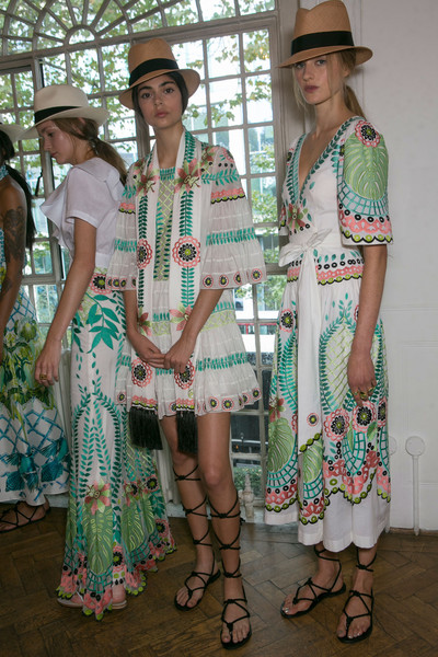Temperley London at London Spring 2016 (Backstage)