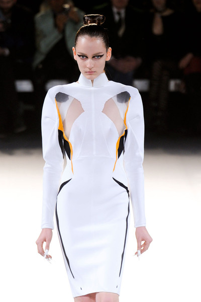 Thierry Mugler at Paris Fall 2012