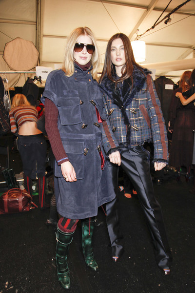 Tommy Hilfiger at New York Fall 2011 (Backstage)