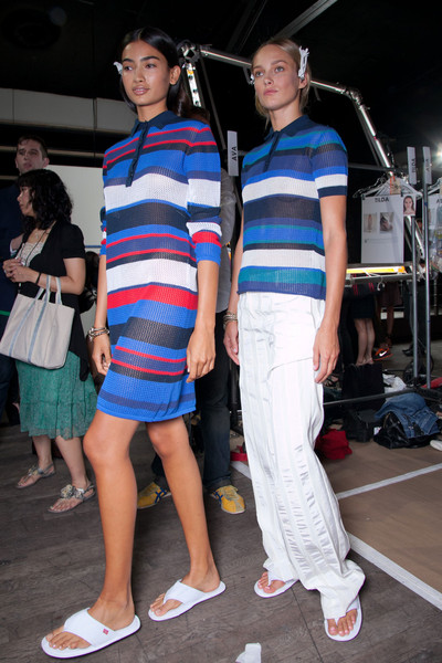 Tommy Hilfiger at New York Spring 2013 (Backstage)