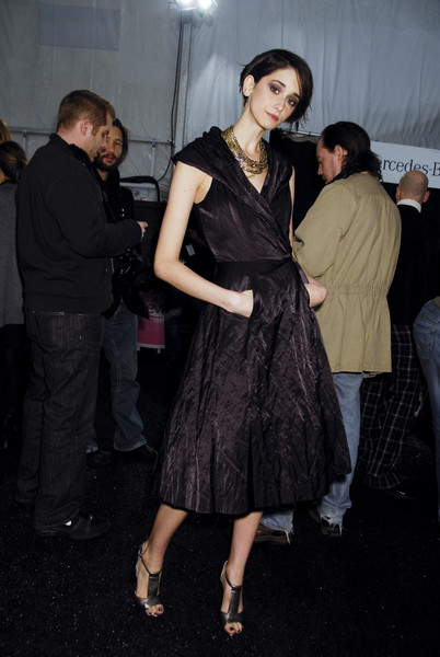 Tracy Reese at New York Fall 2008 (Backstage)