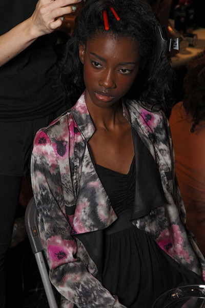 Tracy Reese at New York Spring 2012 (Backstage)
