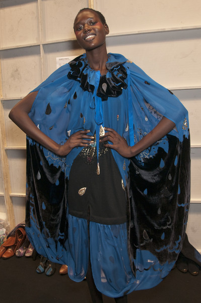 Tsumori Chisato at Paris Fall 2010 (Backstage)