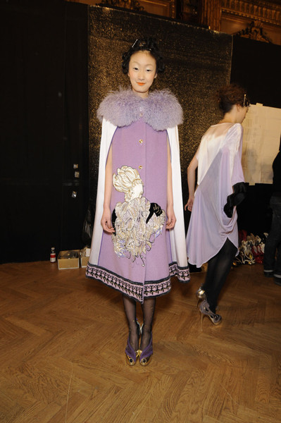 Tsumori Chisato at Paris Fall 2011 (Backstage)