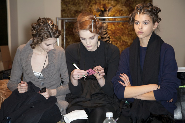 Tuleh at New York Fall 2009 (Backstage)