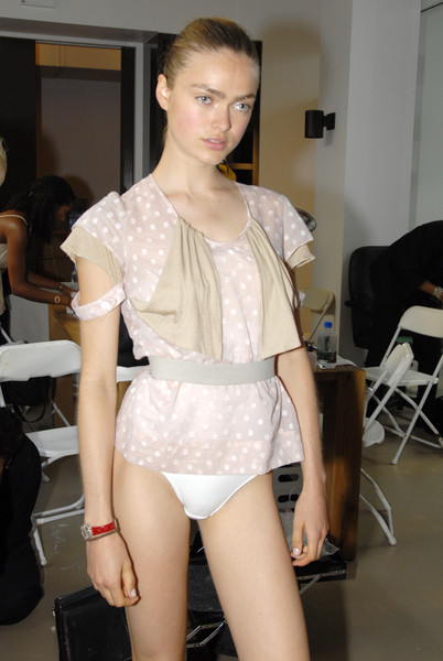 VPL by Victoria Bartlett at New York Spring 2007 (Backstage)