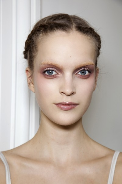 Valentino at Couture Spring 2011 (Backstage) [face,hair,eyebrow,lip,skin,hairstyle,chin,beauty,fashion,forehead,supermodel,valentino,haute couture,fashion,hair,model,face,eyebrow,hairstyle,couture spring 2011,haute couture,model,supermodel,fashion,beauty.m]