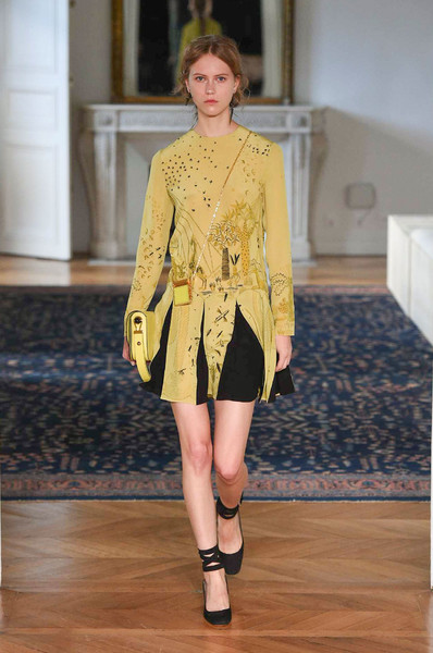 Valentino at Paris Spring 2017 [fashion show,fashion model,fashion,runway,clothing,yellow,footwear,public event,haute couture,shoulder,valentino,maria grazia chiuri,fashion,haute couture,runway,fashion week,spring,clothing,paris fashion week,fashion show,maria grazia chiuri,paris fashion week,runway,fashion show,valentino,fashion,spring,fashion week,haute couture]