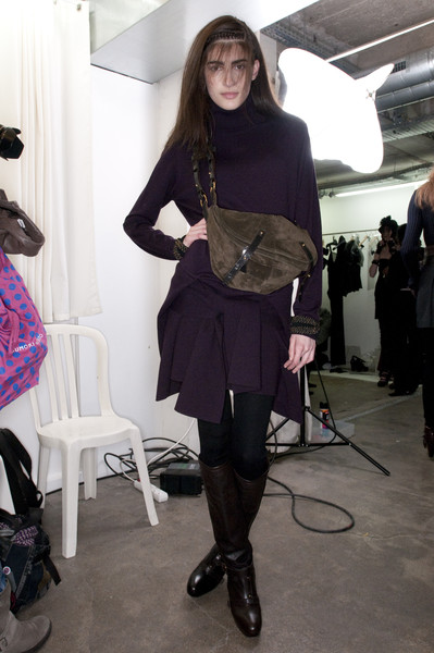 Vanessa Bruno at Paris Fall 2009 (Backstage)
