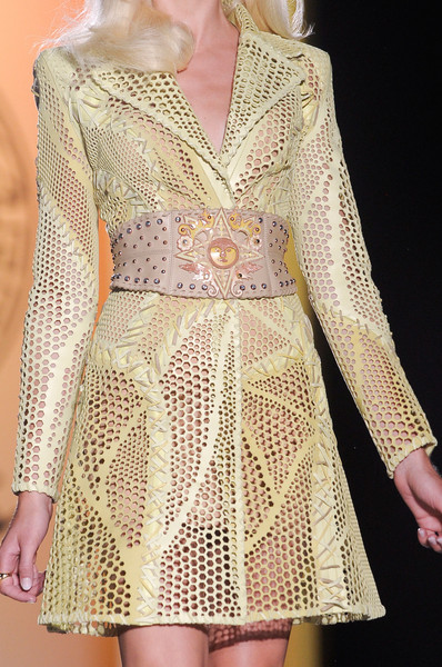 Versace Couture Details, Fall 2012