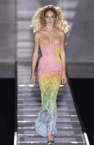 Versace Couture Spring 2002