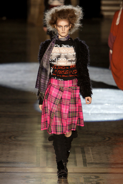Vivienne Westwood at London Fall 2010
