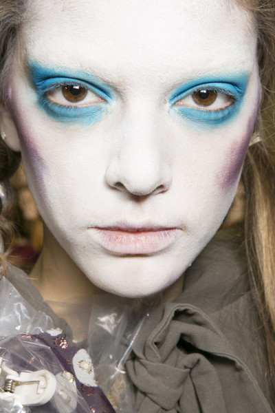Vivienne Westwood at Paris Fall 2013 (Backstage)