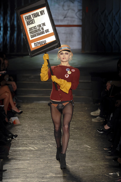 Vivienne Westwood Red Label at London Fall 2008