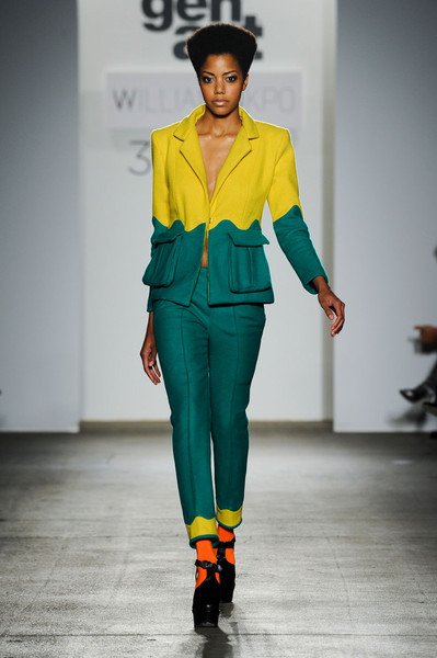 William Okpo at New York Fall 2012