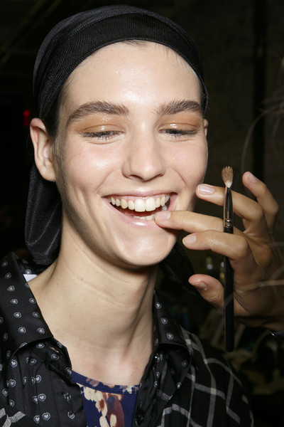 Yigal Azrouël at New York Spring 2014 (Backstage)