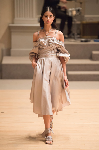 Yuna Yang at New York Spring 2019