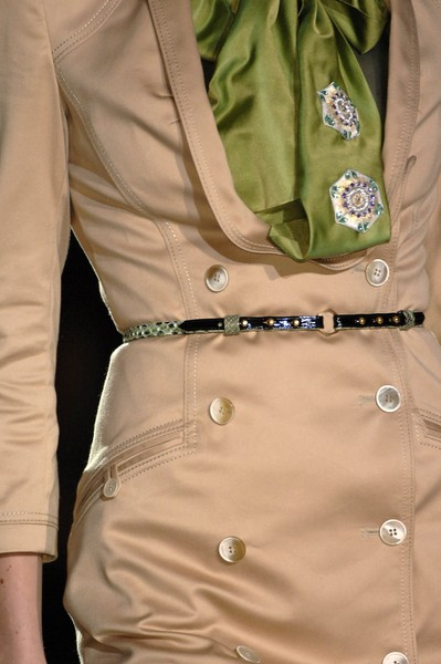 Zac Posen at New York Spring 2007 (Details)