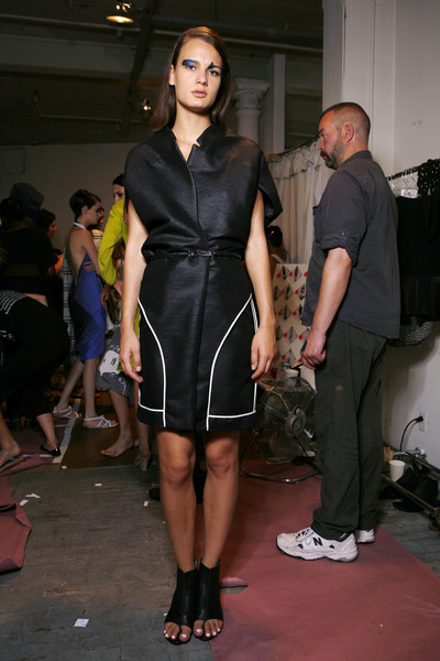 Zero + Maria Cornejo at New York Spring 2009 (Backstage)
