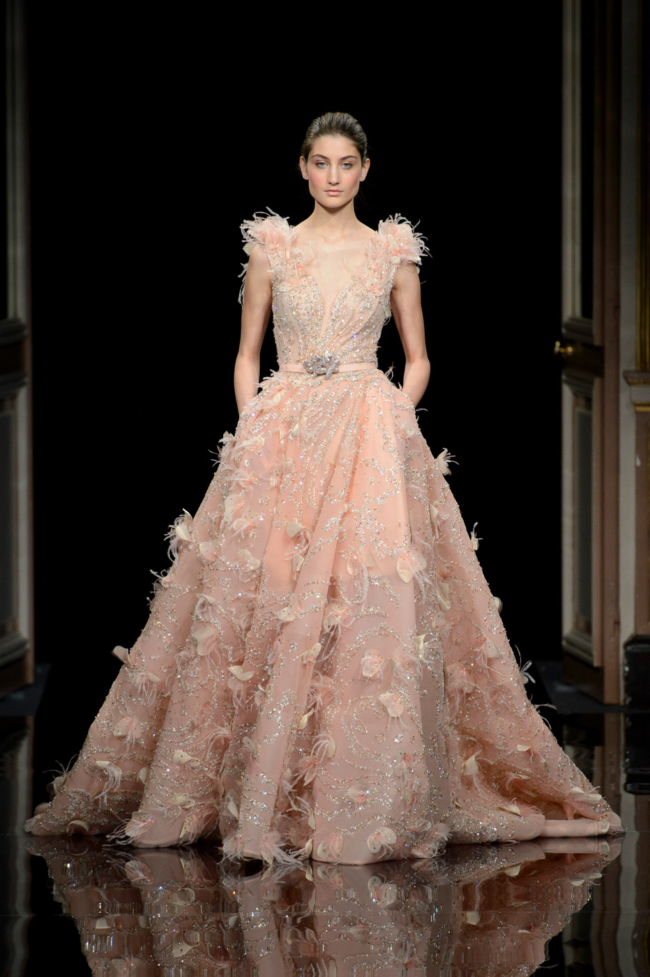 Ziad Nakad At Couture Spring 2017 Livingly
