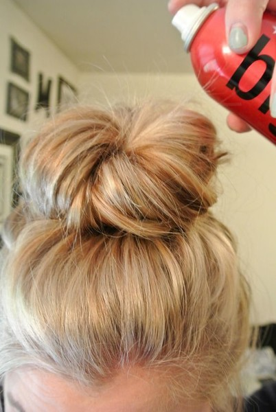 Effortless Messy Bun