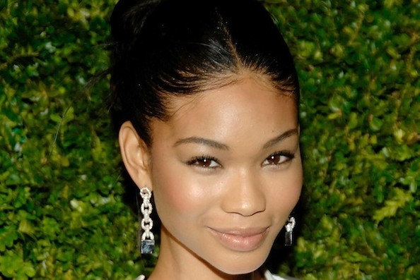 """I'm Not a Product Girl"": Chanel Iman's Basic Beauty Essentials"