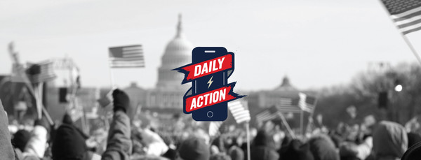 Daily Action is the New App You Can Use to Resist Trump