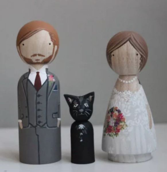 Fur Baby Cake Toppers