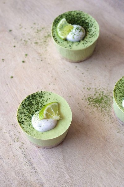 Matcha Key Lime Pie