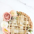 A Floral Wedding Pie