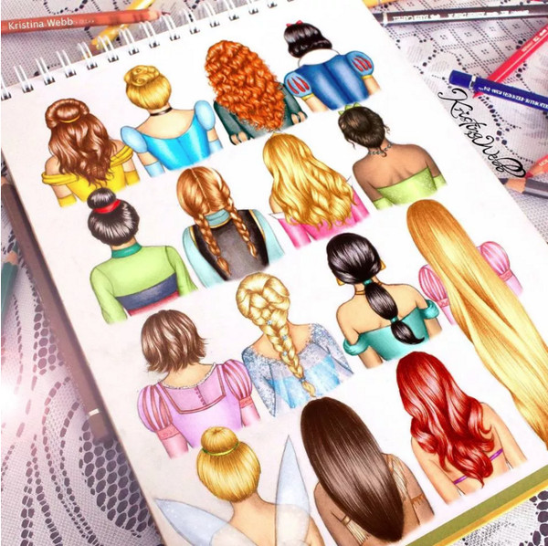 Disney Princess-Inspired Hairstyles