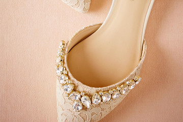 The Prettiest Wedding Flats on Pinterest