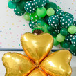 Gold Four-Leaf Clover Balloons