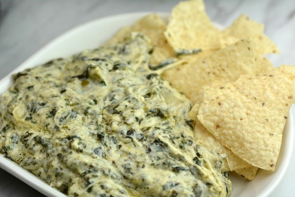 Wow everyone with artichoke and spinach dip