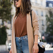 A Cardigan and Boyfriend Jeans