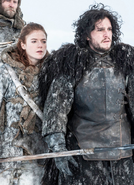 Jon Snow And Ygritte — 'Game of Thrones'