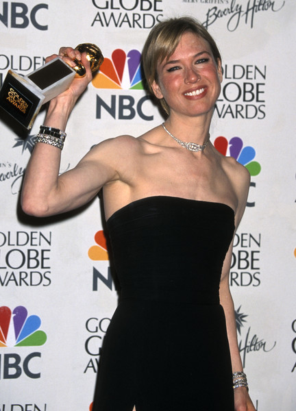Renee Zellweger Almost Misses Her Award