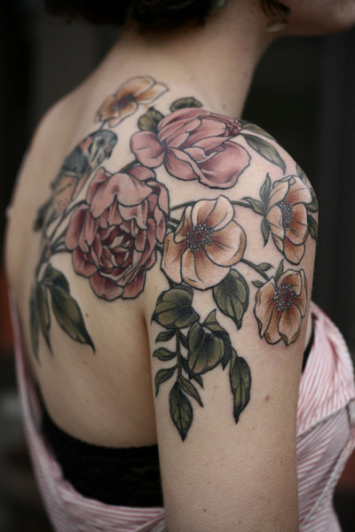 Stunning Floral Tattoos That Are Beautifully Soft And Feminine