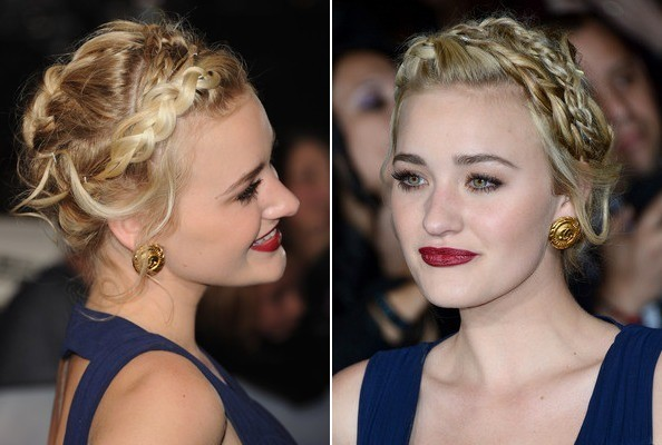 AJ Michalka's Enchanting Braids