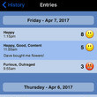 MyMoodTracker To Track Your Moods