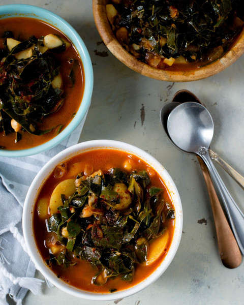 Favorite Recipes: Collard Green Potato Soup