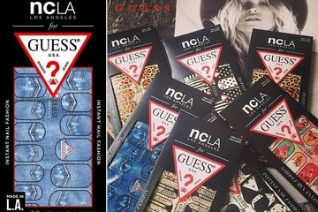 NCLA Teams Up with Guess on Nashville-Inspired Nail Wraps