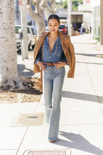 Suede and Jeans
