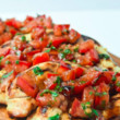 Make Bruschetta Grilled Chicken