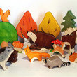 Capture all the woodland creatures