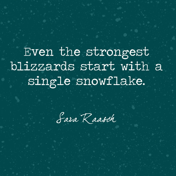 Snowflake Love Quotes Custom A Single Snowflake Beautiful And True Winter  Quotes Livingly